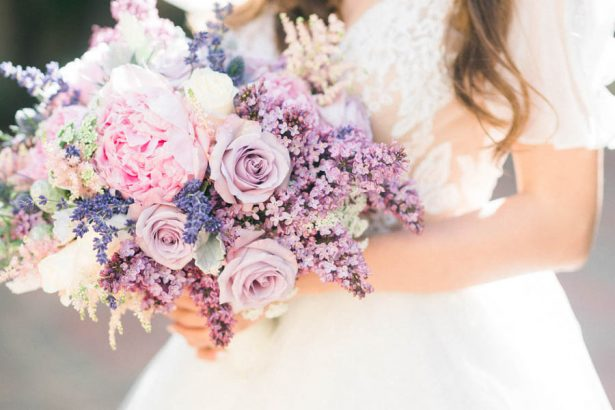 Ultra Violet Pantone Color of the Year showcased at a Fabulous Wedding