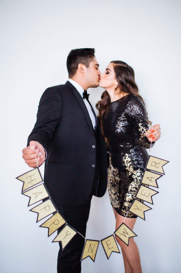 New Year's Eve Marriage Proposal Ideas - Sparrow and Gold Photography