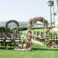 Outdoor Wedding Arches - Donna Lams Photo