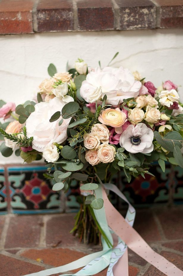 Sophisticated Vintage Wedding Bouquet - Faria Munmun Photography