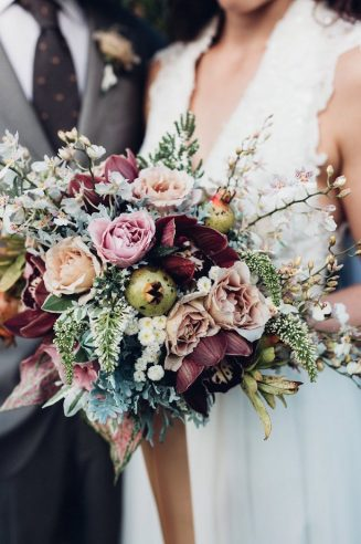 Winter wedding bouquets belle the magazine via 12 stunning wedding bouquets junglespirit Image collections