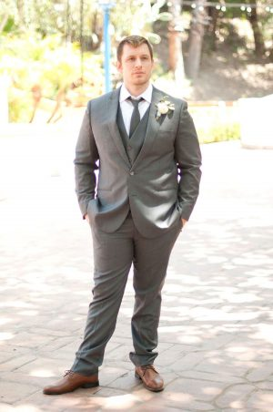Groom Gray Suit - Faria Munmun Photography