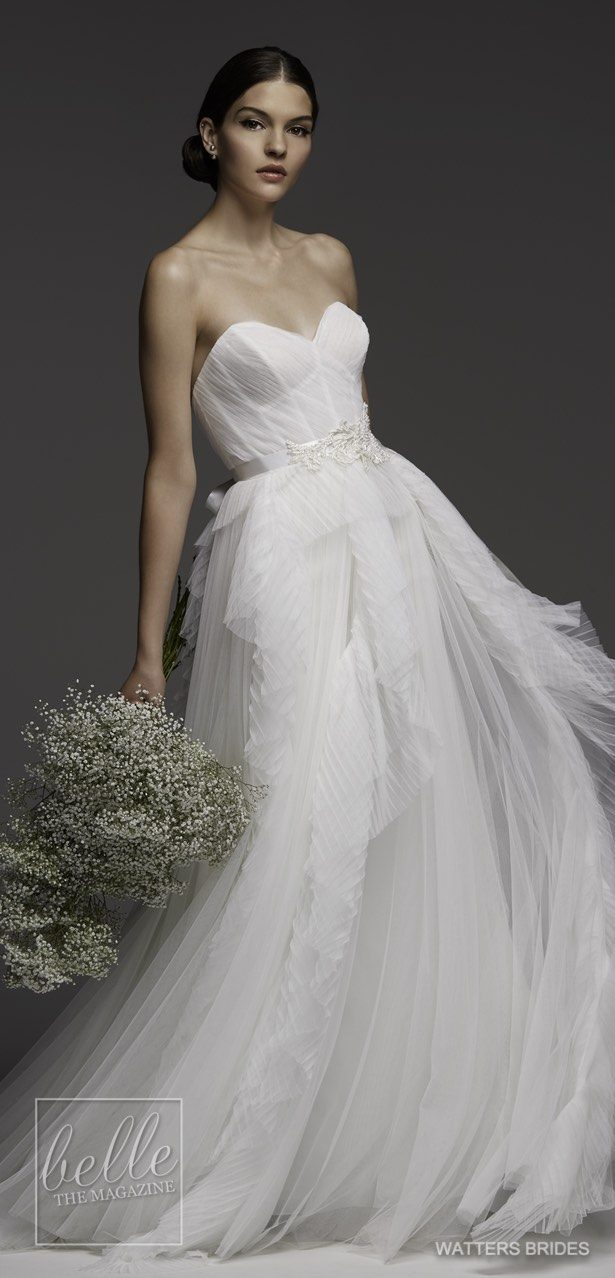 Wedding Dresses by Watters Brides Spring 2018