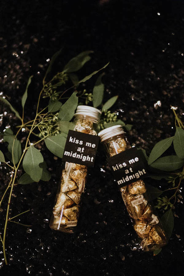 New Year's Eve Party Favors - Sparrow and Gold Photography