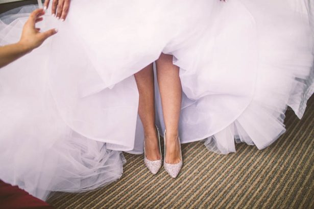 Wedding Shoes - Julian Ribinik Photography