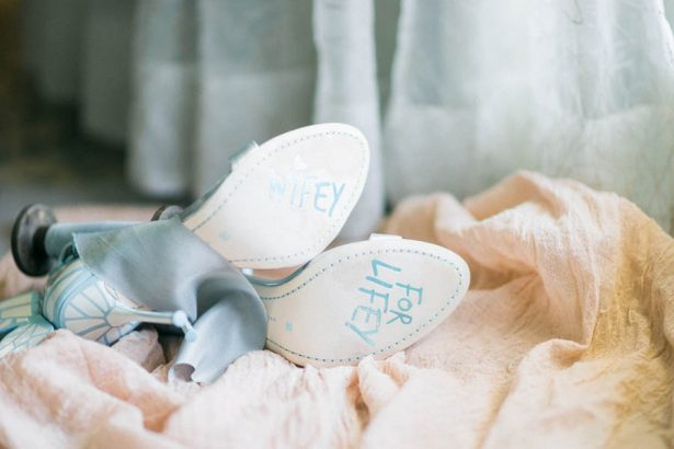 Wedding Shoes- Donna Lams Photo