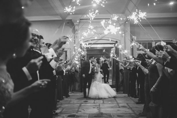 Wedding Sparklers - Julian Ribinik Photography