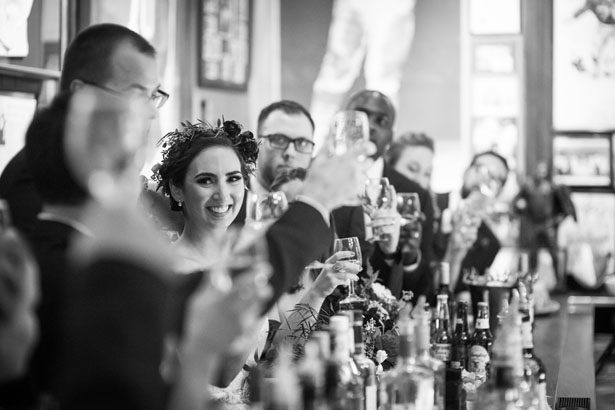Wedding toast - Anna Schmidt Photography