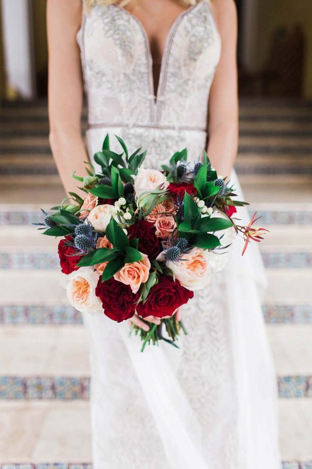 Mosaic Infused Winter Wedding Inspiration