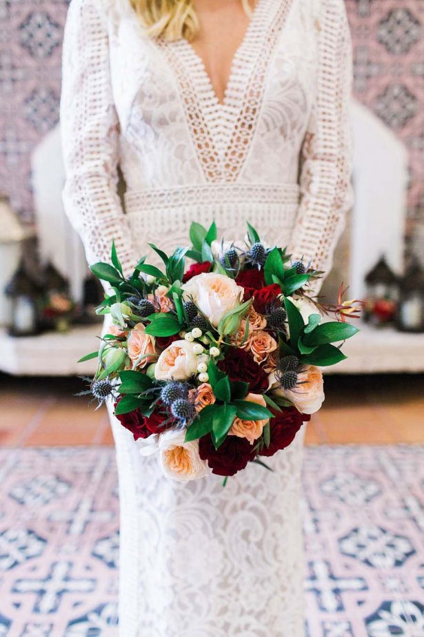 Winter Wedding Bouquet - Harmony Lynn Photography