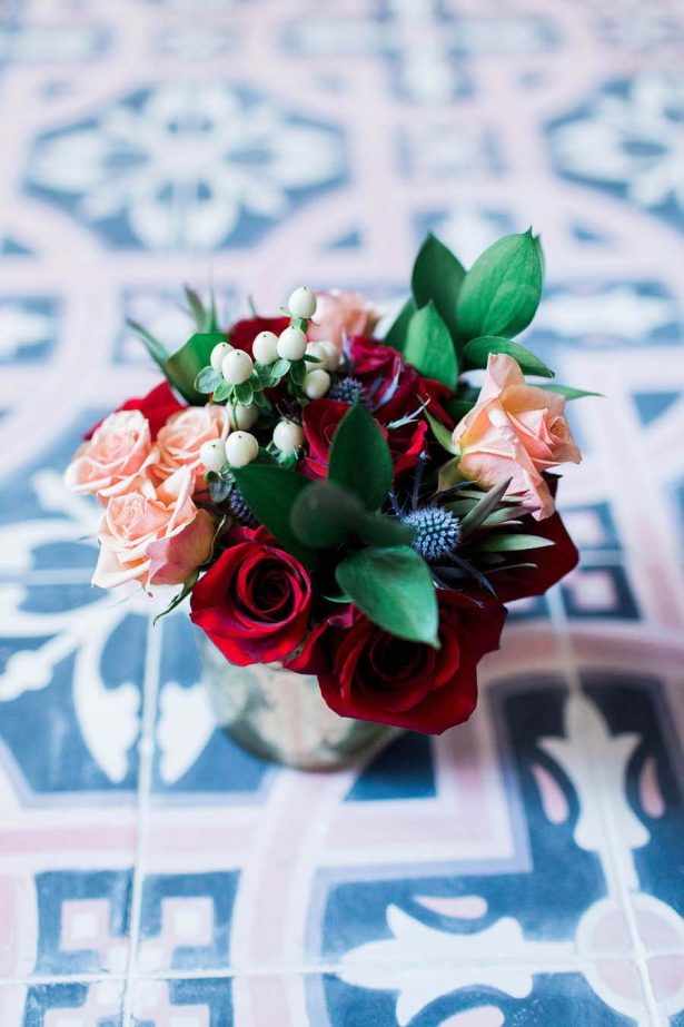 Winter Wedding Flowers - Harmony Lynn Photography