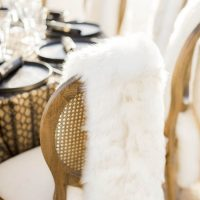 Winter Wedding Furs - Love and You Photography