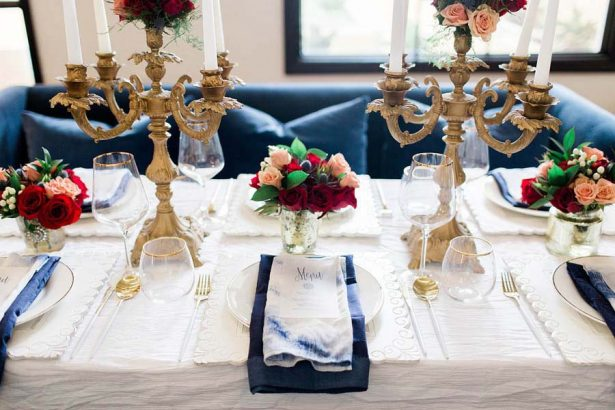 Winter Wedding Tablescape - Harmony Lynn Photography