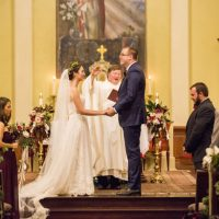 Winter Wedding ceremony - Anna Schmidt Photography