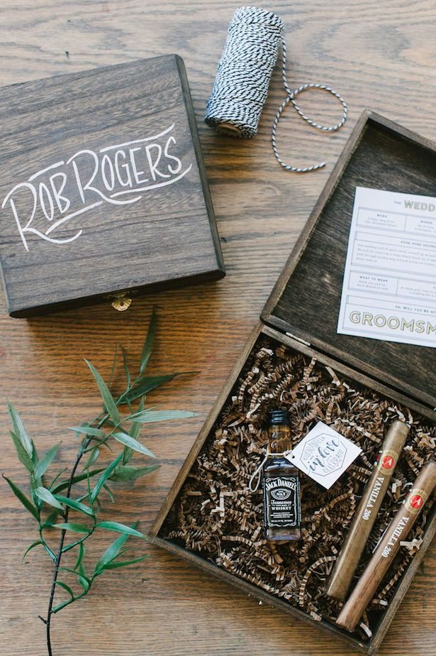 Groomsmen Proposal Ideas - Bottle