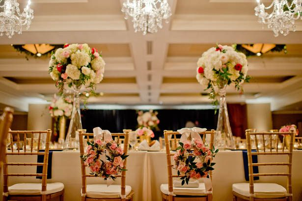 Ballroom Wedding Decor - Photography: Mosca Studio