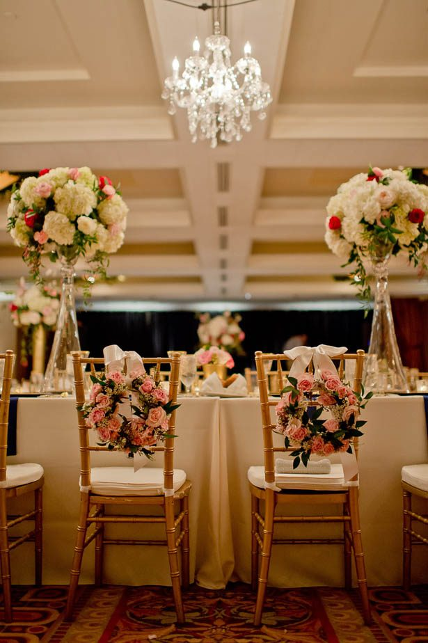 Bride and groom chairs - Photography: Mosca Studio