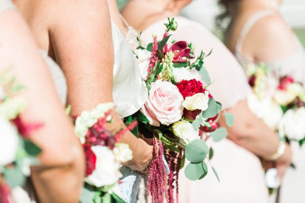 Bridesmaids Bouquet - Jenny Quicksall Photography
