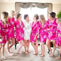 Bridesmaids robes - Mosca Studio