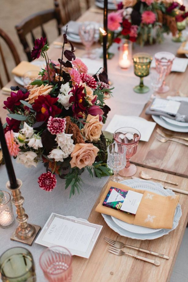 Burgundy Wedding Ideas That Will Take Your Breath Away - Belle The ...