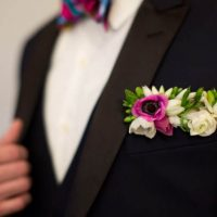Colorful groom's look - Emily Leis Photography