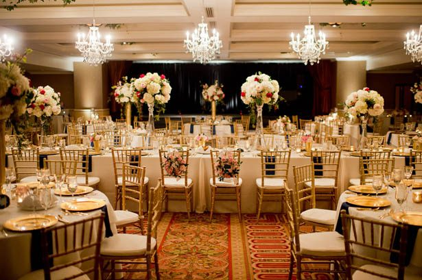 Elagant Ballroom Wedding Decor - Photography: Mosca Studio