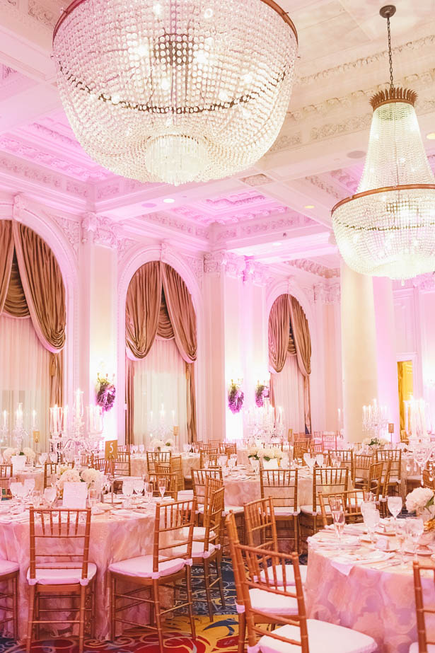 Elegant Ballroom wedding reception - Don Mears Photography