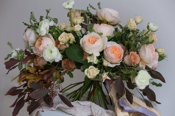 Fall Wedding Bouquet Perfection at a Flower Workshop