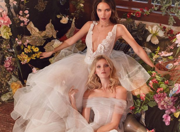 Wedding Dresses by Galia Lahav Couture Bridal – Fall 2018 Collection: Florence by Night