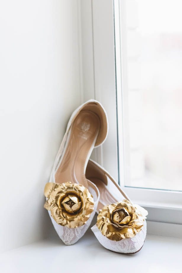 Lace Wedding shoes - Don Mears Photography