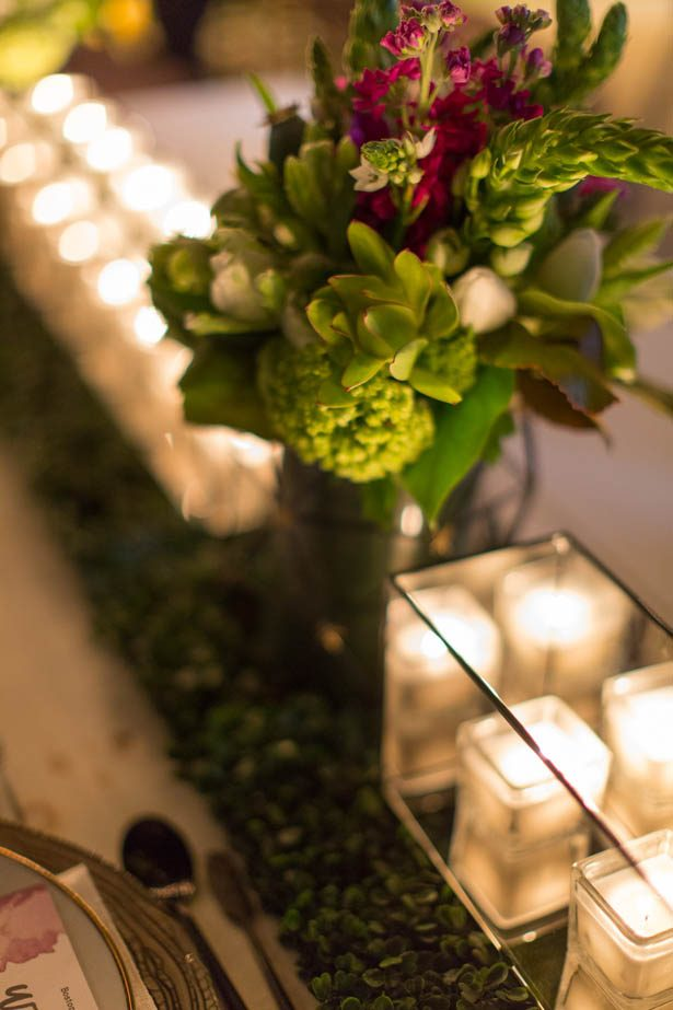 Modern glamour wedding details - Emily Leis Photography