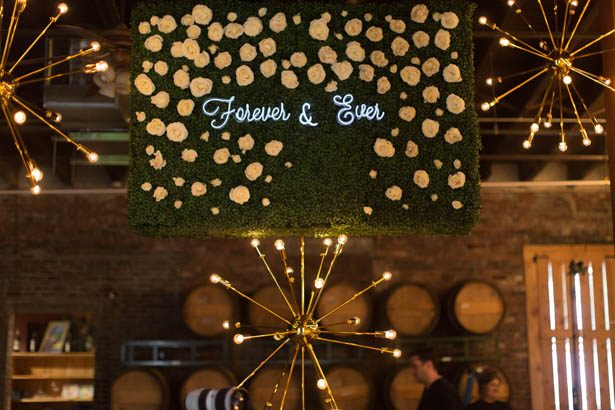 Neon wedding sign - Emily Leis Photography