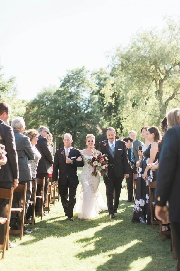 Ranch Wedding Ceremony - Jenny Quicksall Photography
