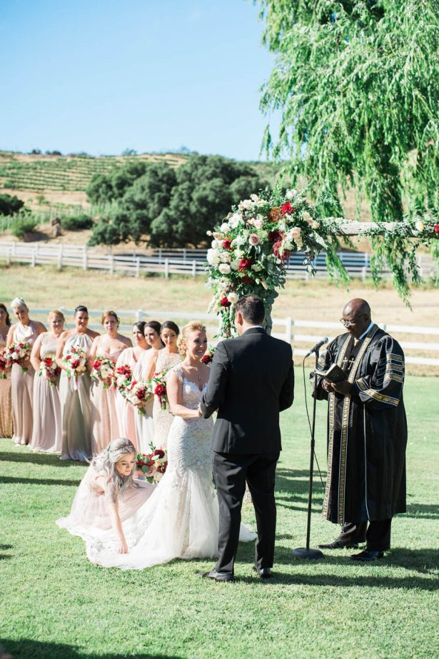 Outdoor Wedding Ceremony - Jenny Quicksall Photography