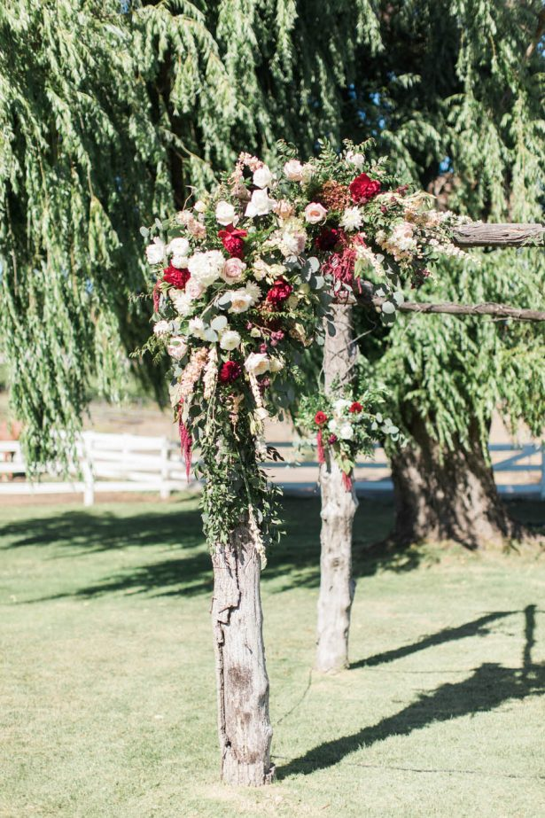 Outdoor Wedding Ceremony Gazebo - Jenny Quicksall Photography