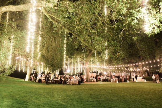 Ranch Wedding Lighting Decor - Jenny Quicksall Photography