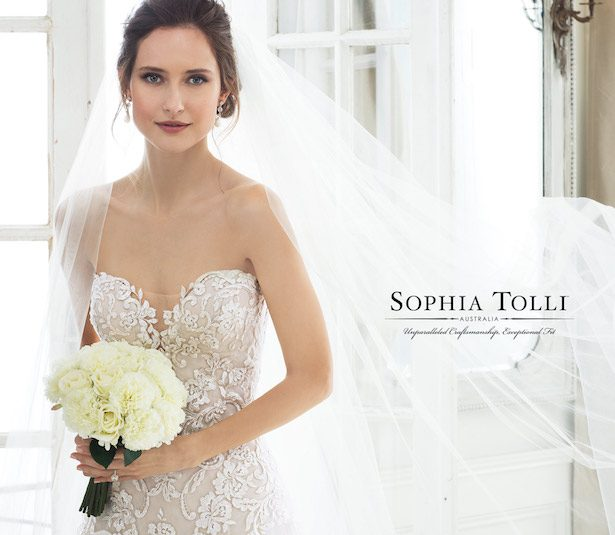Sophia Tolli Bridal Spring 2019: Sophia Tolli Wedding Dress Collection Spring 2018
