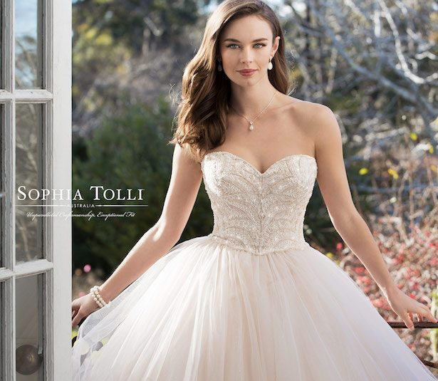 Sophia Tolli Wedding Dress Collection Spring 2018