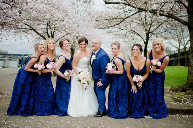 Spring Bridal Party Ideas - Photography: Mosca Studio