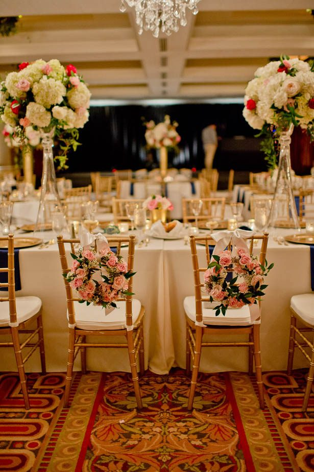 Spring Elegance Ballroom wedding reception - Photography: Mosca Studio