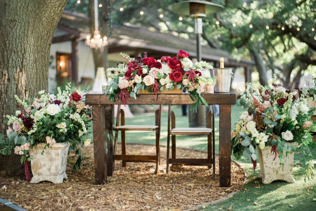 Wedding Sweetheart Table - Jenny Quicksall Photography