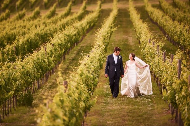 Vineyard Wedding - Photography: Studio Bonon
