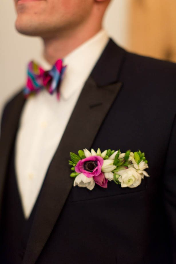 Wedding boutonniere - Emily Leis Photography