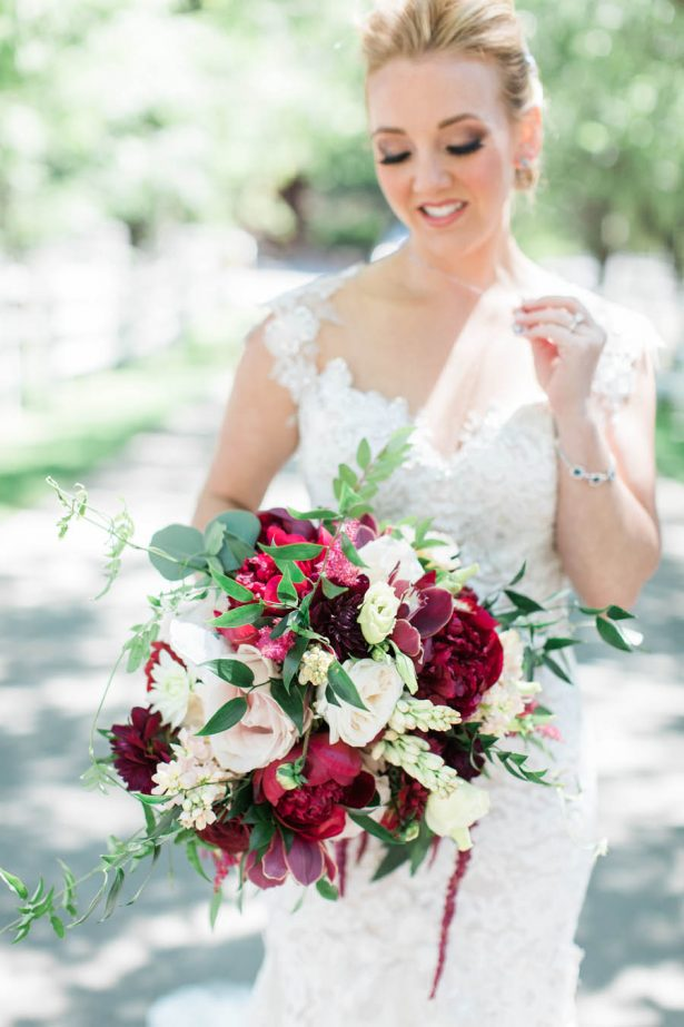 Wedding Bouquet - Jenny Quicksall Photography