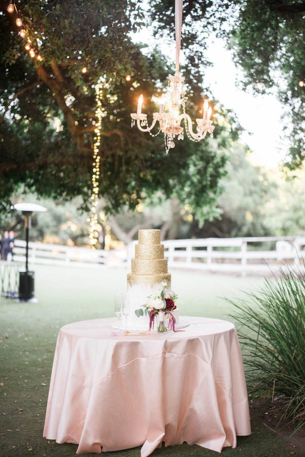Wedding Cake Table - Jenny Quicksall Photography