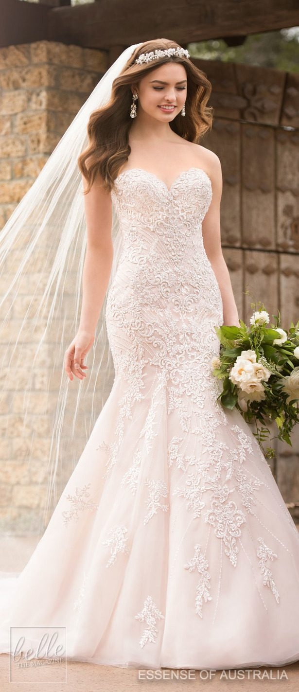 Wedding Dress by Essense of Australia Fall 2017