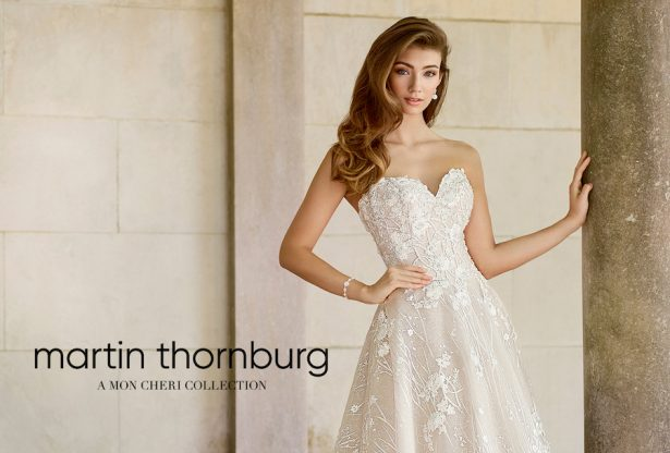 Wedding Dresses By Martin Thornburg, A Mon Cheri Collection – Spring 2018