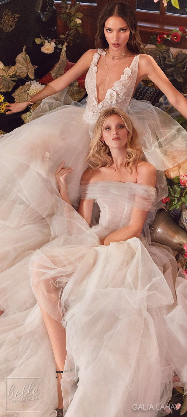 Wedding dresses by Galia Lahav Couture Bridal - Fall 2018 - Florence by Night - Mila and Poopy