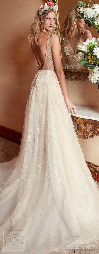 Galia lahav fall 2018 belle the magazine for Night dress for wedding night