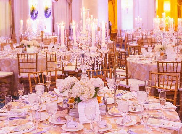 An Elegant New Year's Eve Wedding with a Dash of Fairytale Flair
